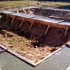 Ленточный фундамент под баню 6х6 м