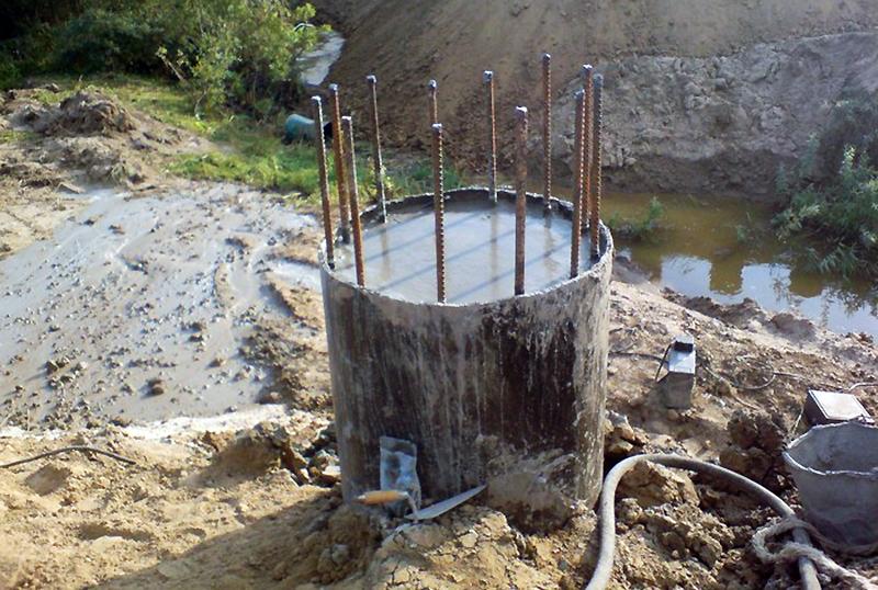 Метод крепления стенок скважины раствором глины