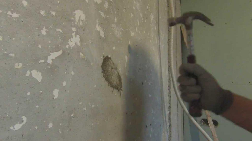 Укрепление начавшего рушиться бетонного покрытия