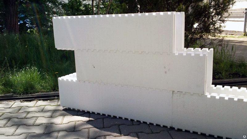 Конструкция блочной ППС опалубки