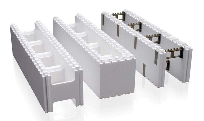 Так выглядят блоки несъемной опалубки