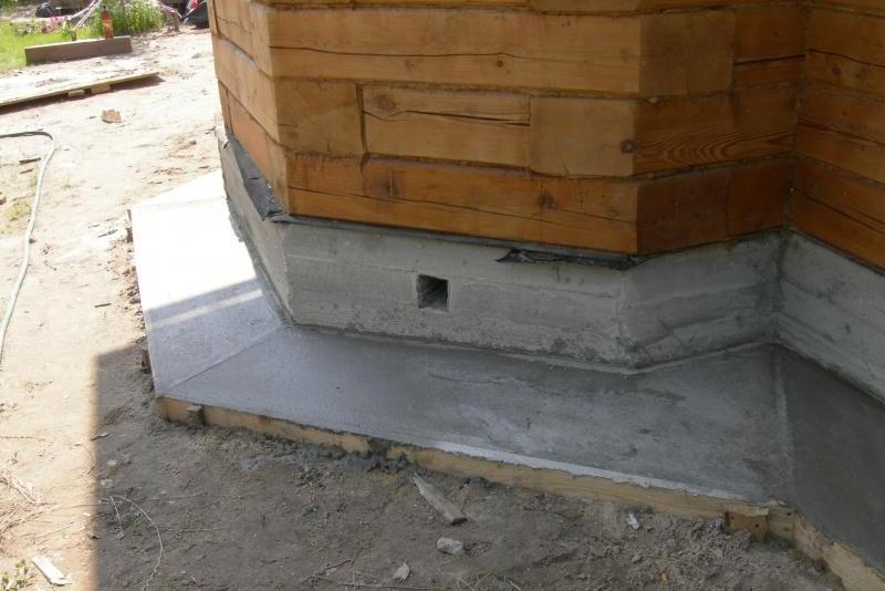 Как сделать отмостку из бетона вокруг дома 30