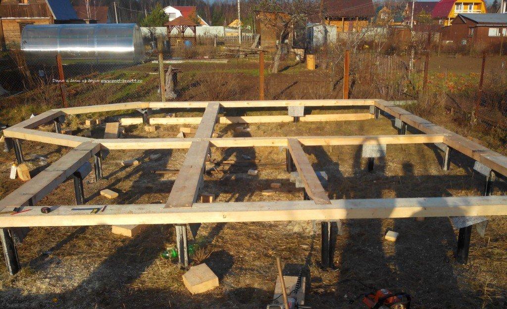 При сооружении фундамента под индивидуальный жилой дом применяются стальные трубы круглого и квадратного сечения, асбестоцементные трубы и трубы из полимерных материалов.