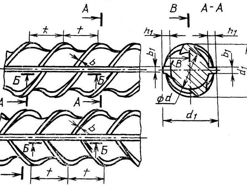Как рассчитать диаметр прутьев