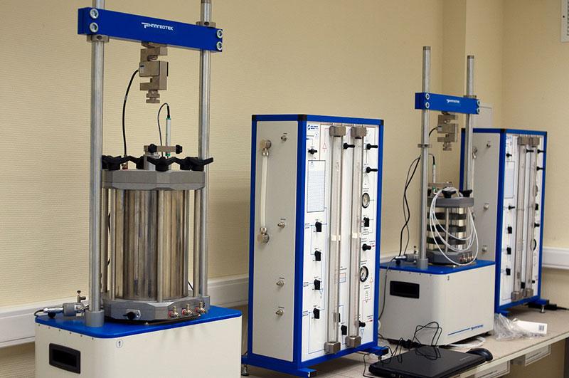Лабораторные исследования грунта