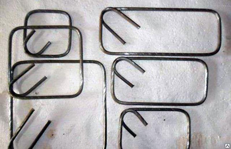 Хомуты для связывания арматурных прутьев