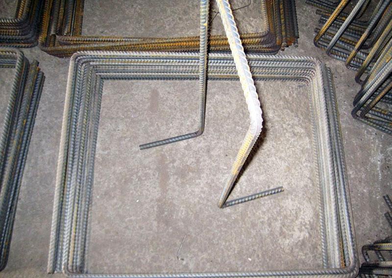 Скобогибочные изделия для армирующих каркасов и сеток