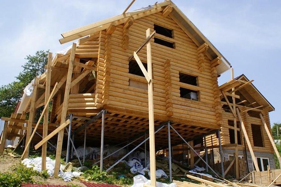 Строительство домов на неровном ландшафте