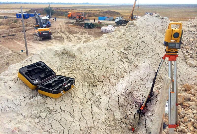 Геодезические изыскания грунта