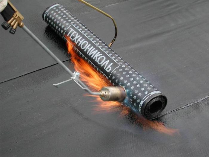 Использование рулонной наплавляемой гидроизоляции Технониколь.