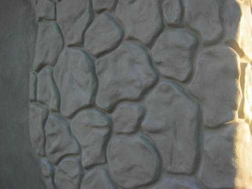 Имитация камня в своими руками