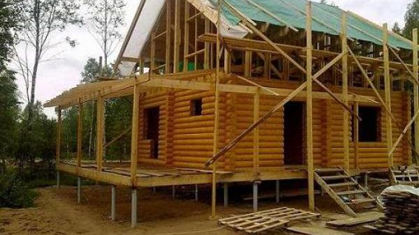 строительство домов на сваях