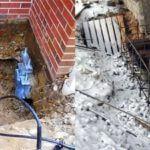Варианты ремонта основания дома из кирпича