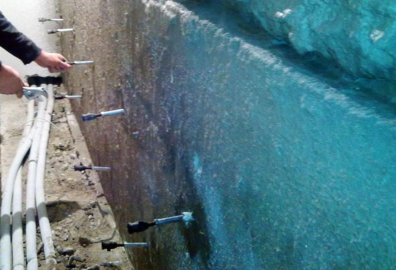 Инъецирование бетона